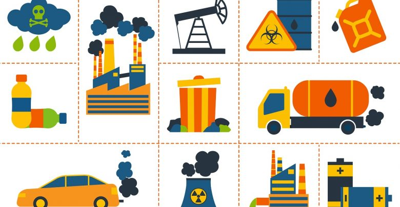 انواع آلودگی و دسته بندی آن