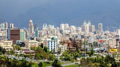 نمایی زیبا از شهر تهران