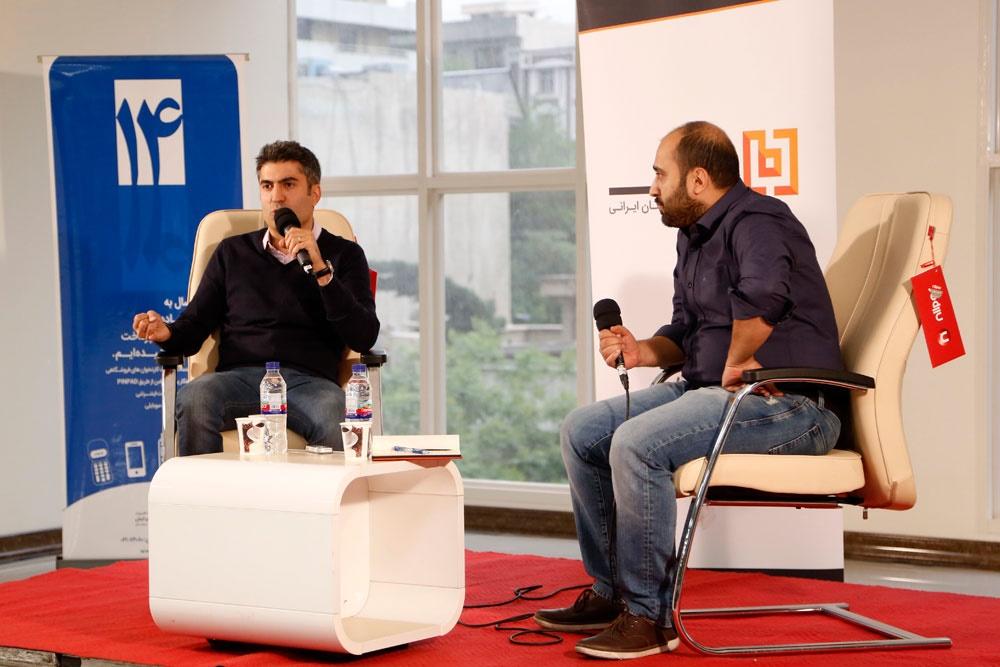 رویداد بانی با حضور رضا اربابیان مدیرعامل شیپور