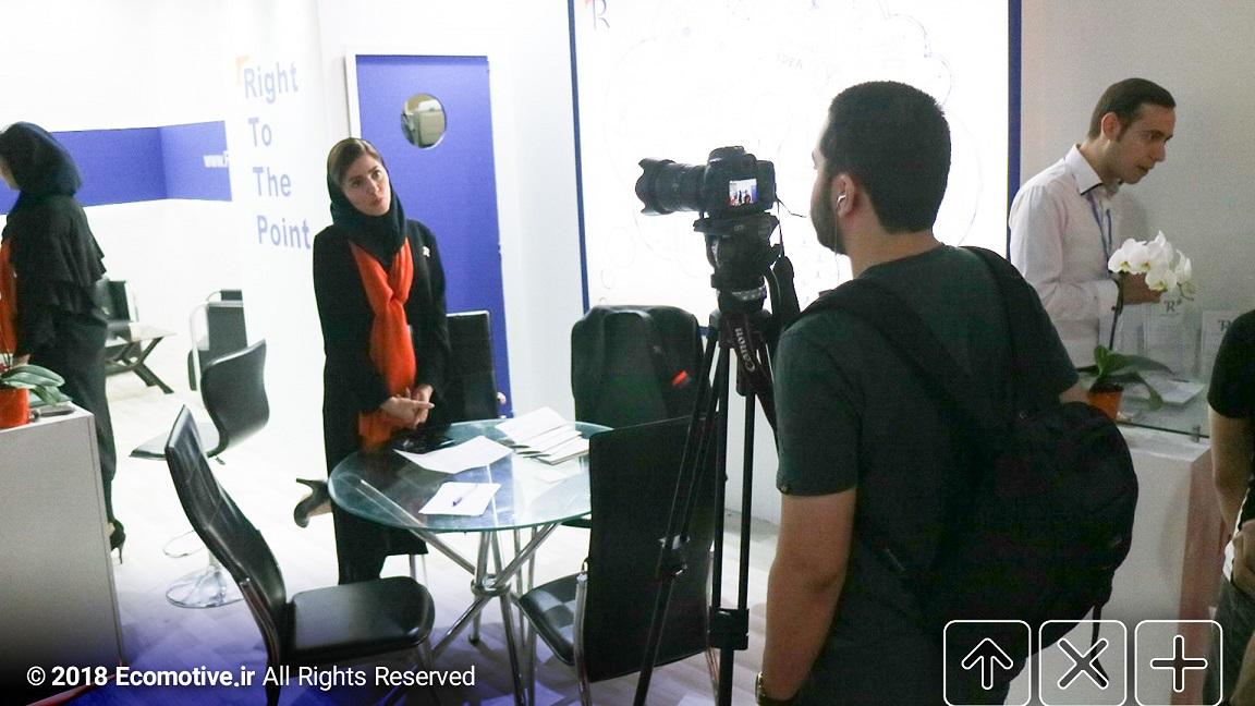رایان توسعه پایا در نمایشگاه الکامپ