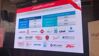 دیجی کالا آمار فروش برندهای ایرانی را افزایش داده است