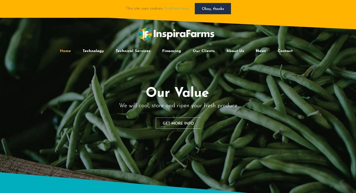 استارتاپ InspiraFarms در حوزه کشاورزی