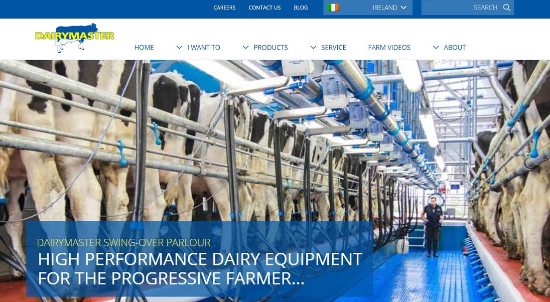 استارتاپ Dairymaster در حوزه رباتیک و دامداری