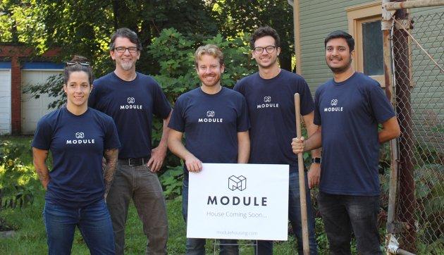 اعضای تیم استارتاپ Module