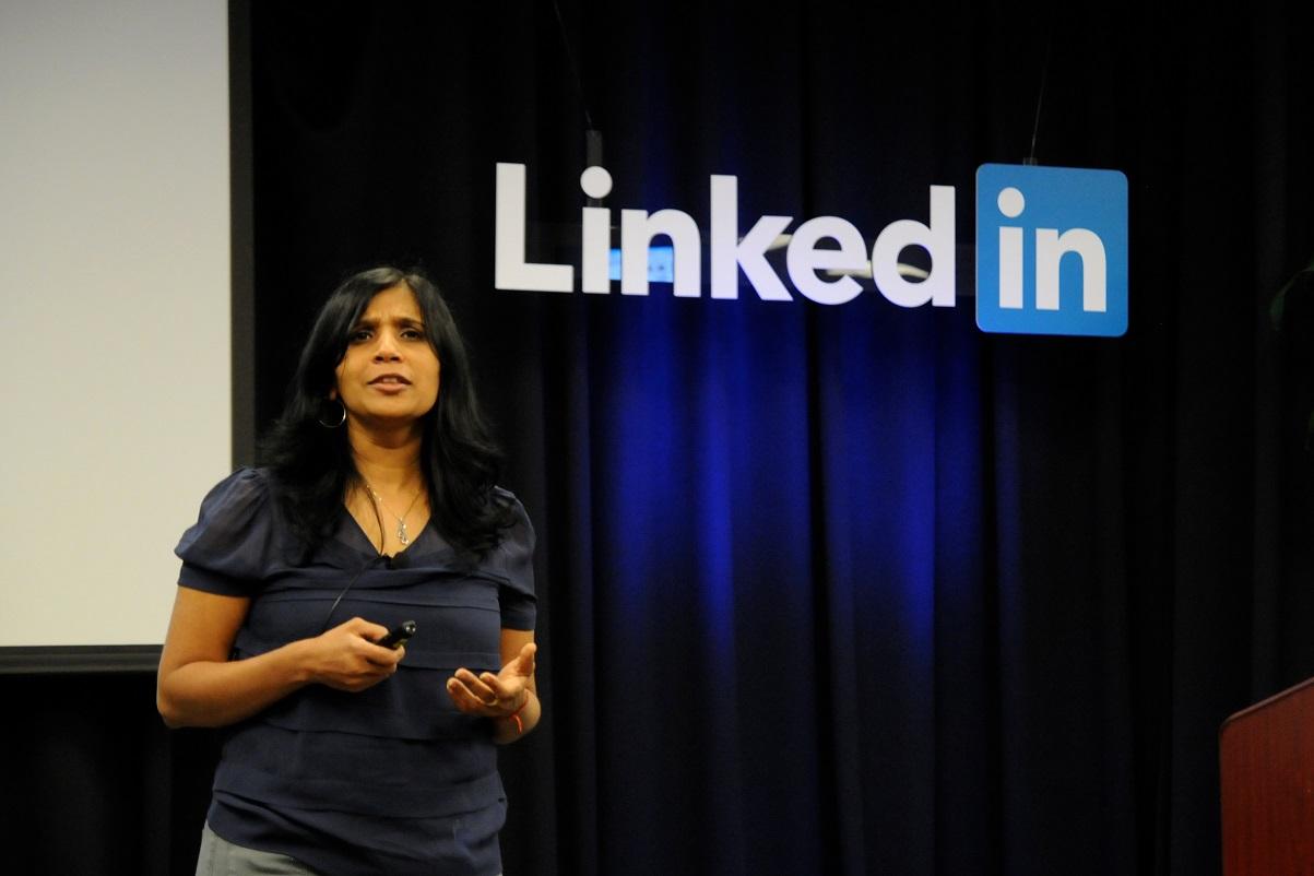 Rashmi Sinha معرفی کارآفرینان برتر -