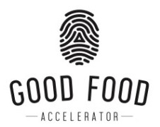 The Good Food Accelerator logo
