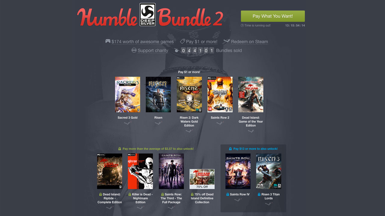Humble Bundle استارتاپ