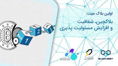 شتاب دهنده فردوسی و انجمن بلاک چین مشهد برگزار می کنند.