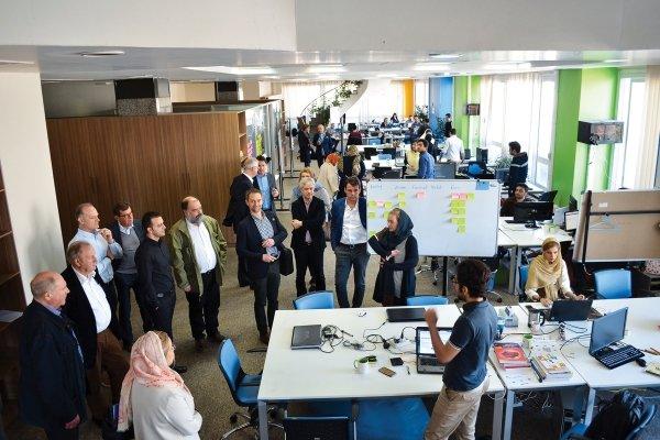 آغاز فعالیت تیم های استارت آپی در دومین شعبه پارک فناوری پردیس