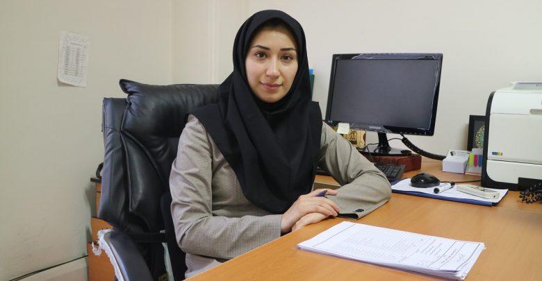 خانم دکتر شبنم یزدانی مدیر کل توسعه کسب و کارهای فضا پایه سازمان فضایی