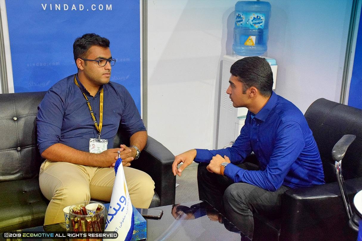 مصاحبه با استارتاپ وینداد در نمایشگاه الکامپ