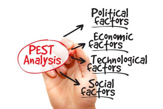 نحوه استفاده از ابزار تجزیه و تحلیل PEST