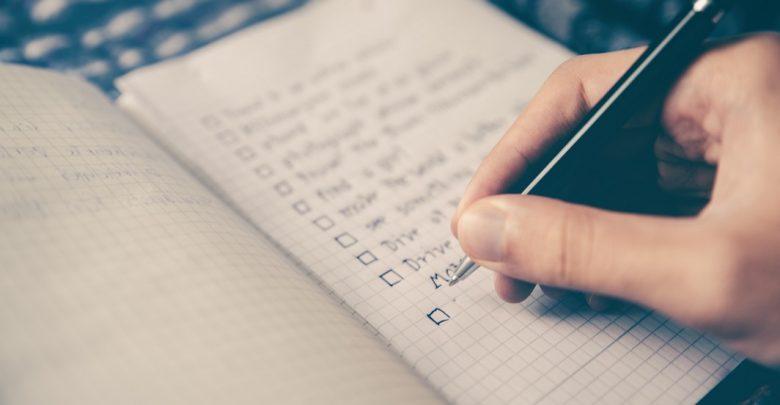 چک لیست پرونده شروع پروژه به عنوان ابزار مدیریت