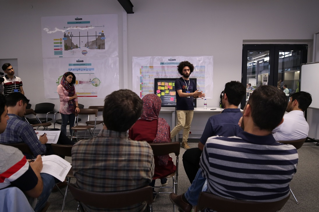 کارگاه مدل کسب و کار در بوت کمپ هوش مصنوعی