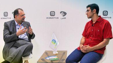 Photo of صحبت های دکتر حسین شیرزاد در نمایشگاه الکامپ در استودیو اکوموتیو