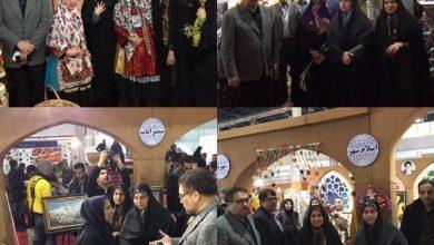 بازدید چهارتن از نمایندگان تهران از نمایشگاه توانمندی های روستاییان و عشایر