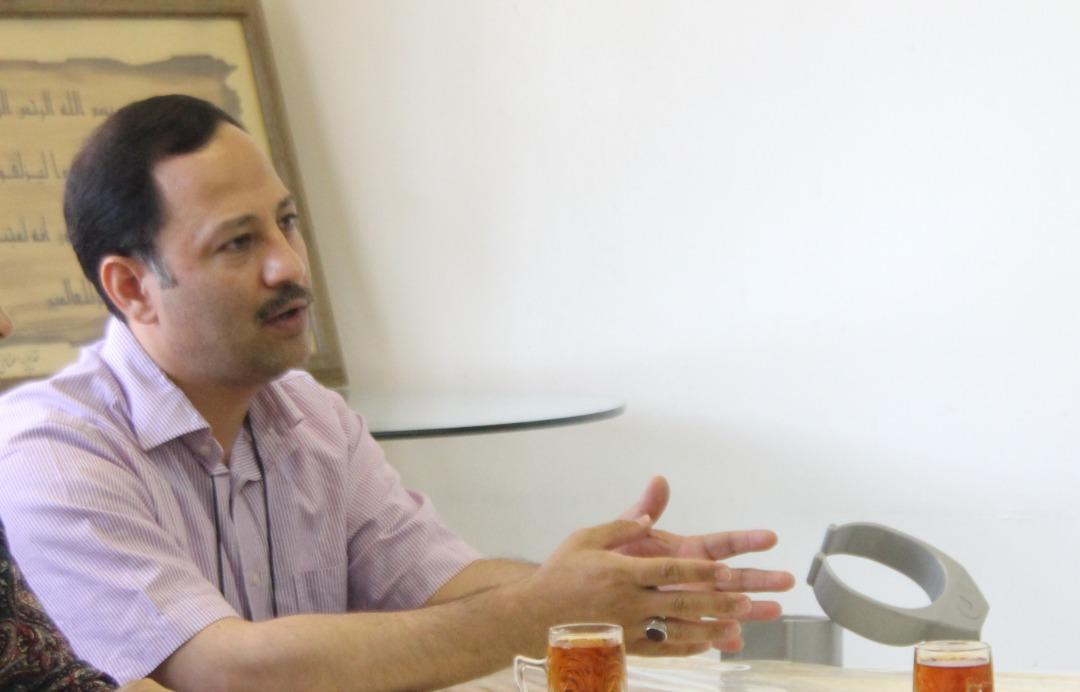 محمد رضا دشتی یکی از فعالان حوزه معلولیت