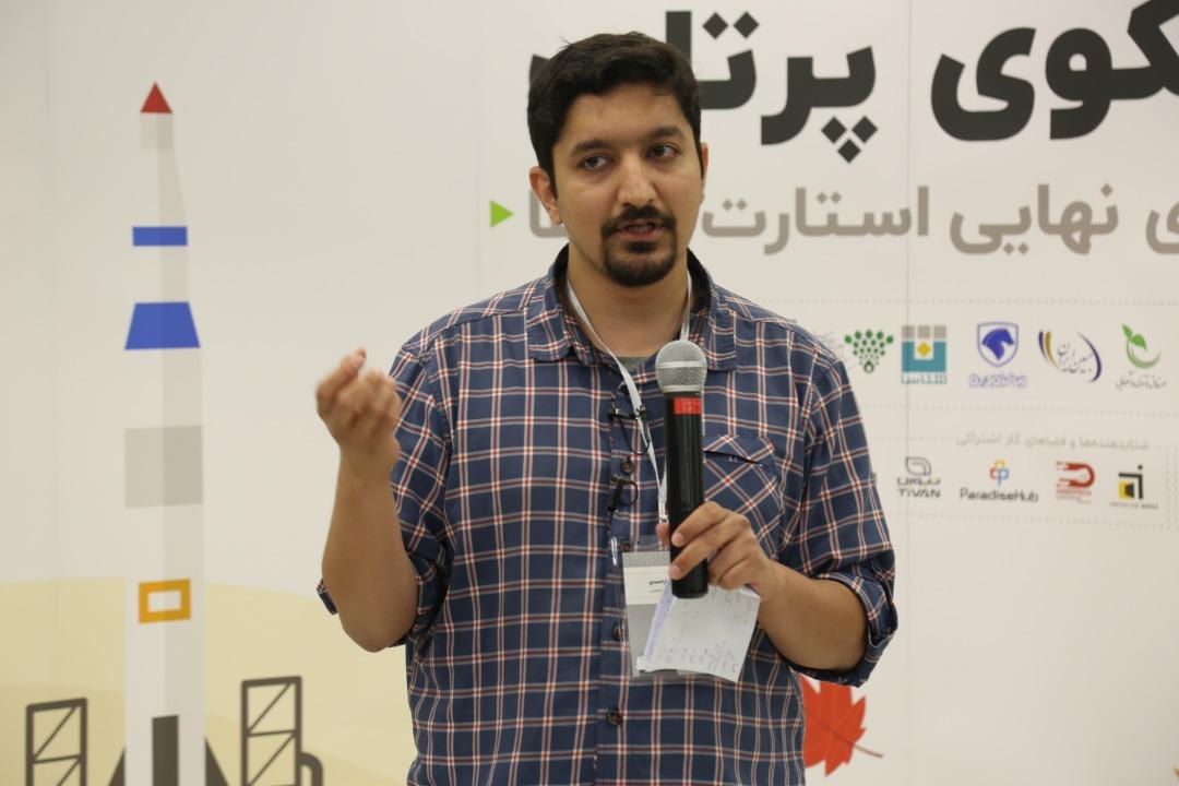 محمد یاراحمدی مدیر روابط عمومی 100 استارتاپ