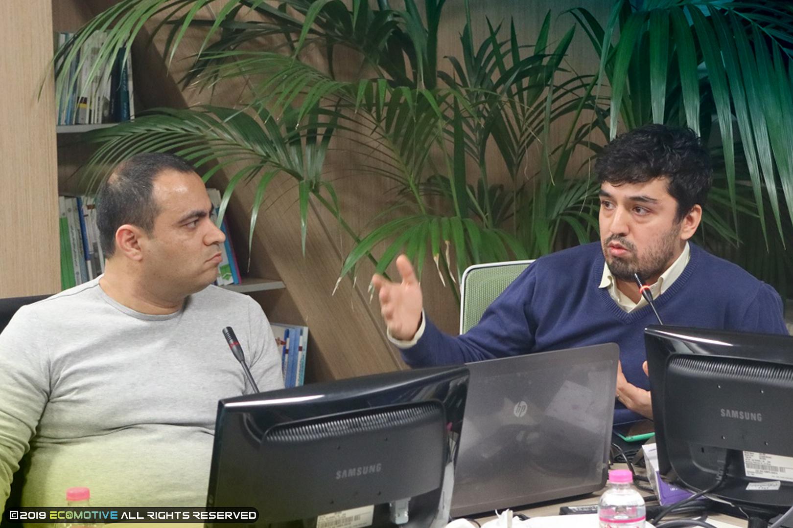 مصطفی امیری و ناصر غانم زاده