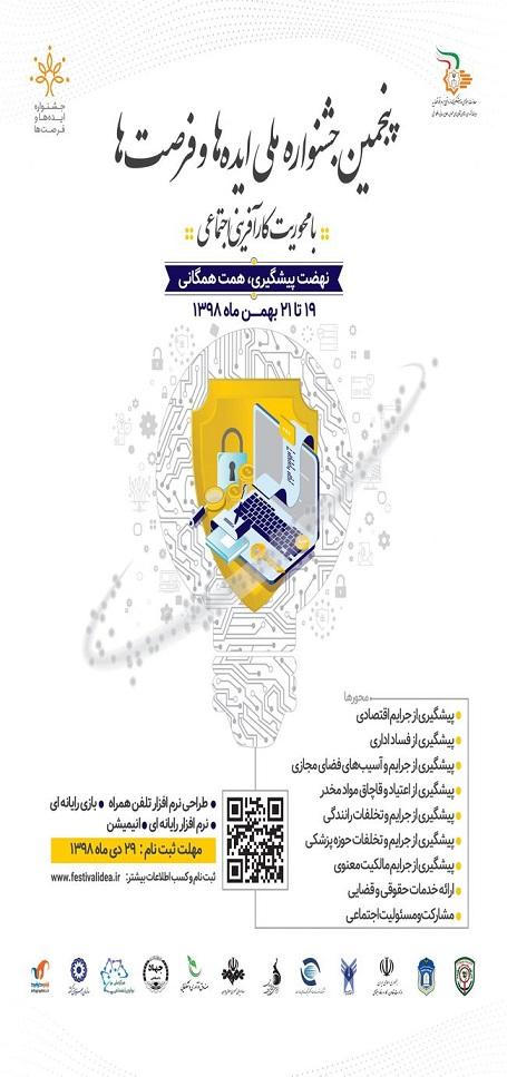 پنجمین جشنواره ملی ایده ها و فرصت ها