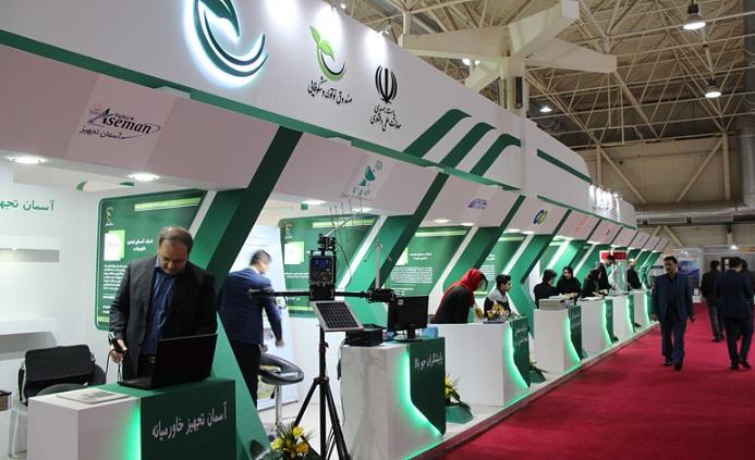 حضور شرکتهای دانش بنیان در نمایشگاه بینالمللی فرودگاه، هواپیما، پرواز، صنایع و تجهیزات وابسته