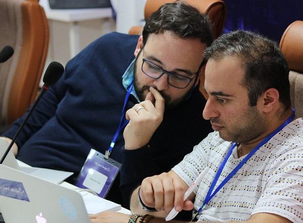 شایان شلیله و میلاد احرام پوش بنیانگذاران جشنواره وب و موبایل