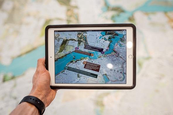 نمایش مکان های سیل روی نقشه توسط «بلد» و «سمیتیو»