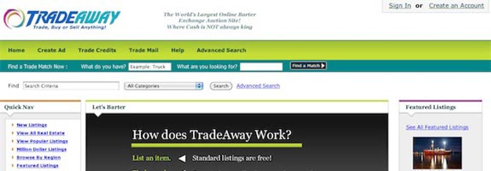 سایت Tradeaway