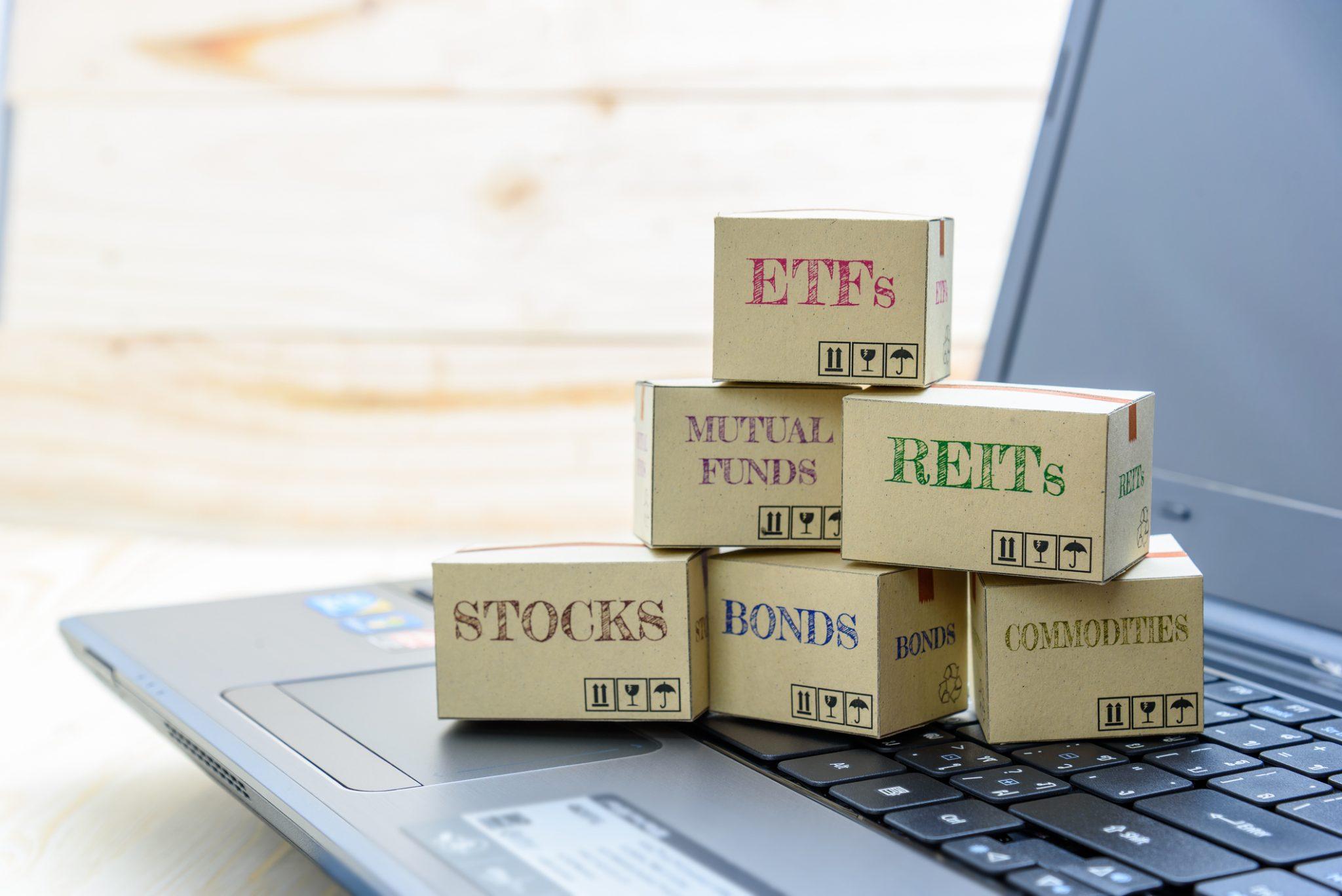 انواع ETF ها