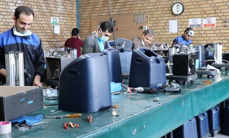 از شرکتهای دانشبنیان برای ساخت دستگاههای اکسیژن ساز دعوت می شود