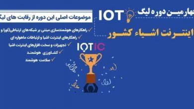 چهارمین لیگ اینترنت اشیاء ایران برگزار می شود
