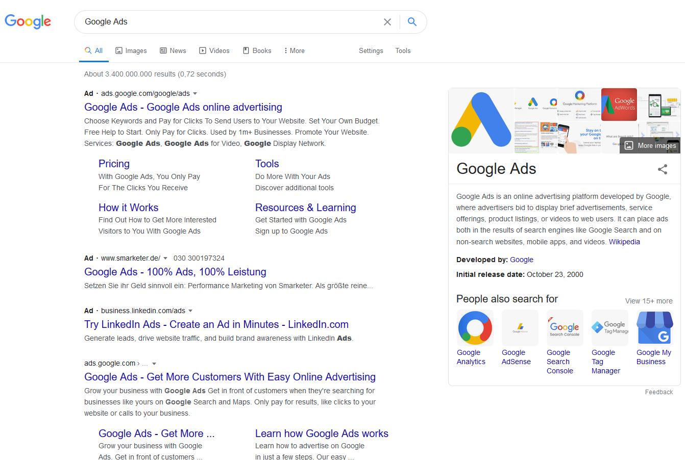 کمپین های پلتفرم گوگل ادز