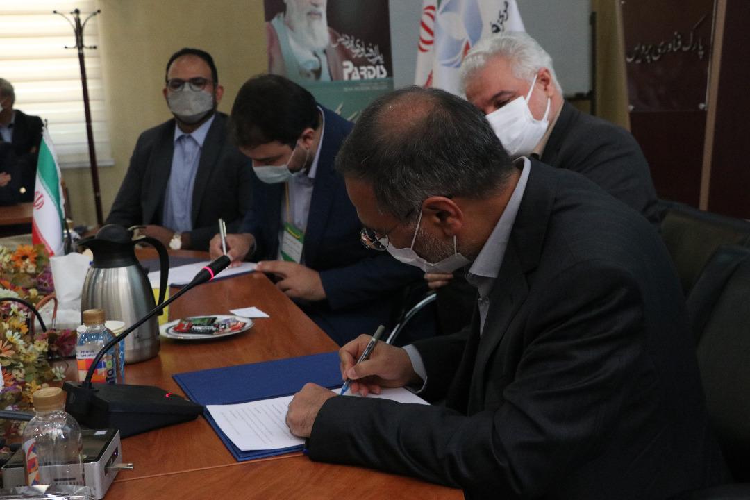 امضا تفاهم نامه میان پارک فناوری پردیس و اداره کل تجهیزات پزشکی