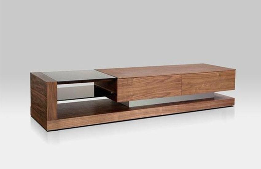 میز تلویزیون ساده و شیک برای طراحی دکورسیون منزل